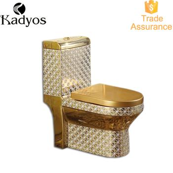 gold toilet. Bathroom Western Gold Toilet Set Decorate Color KD T03GP2 Kd