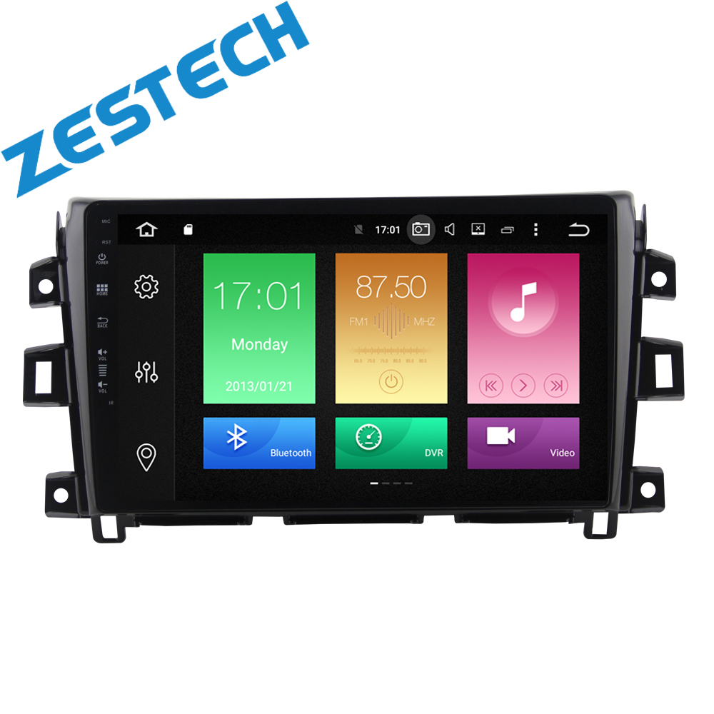 "ZETSTECH 9 ""full touch Screen Android 9.0 Stereo Dell'automobile Per Nissan Navara NP300 2017 AutoRadio RDS Navigatore GPS 4G di RAM No DVD"