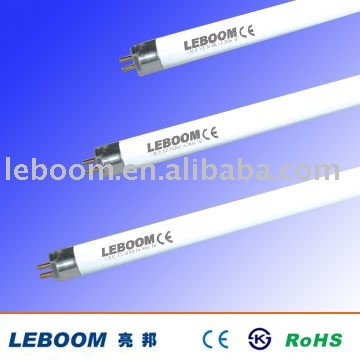 Energy saving T5 HE tricolor fluorescent lamp