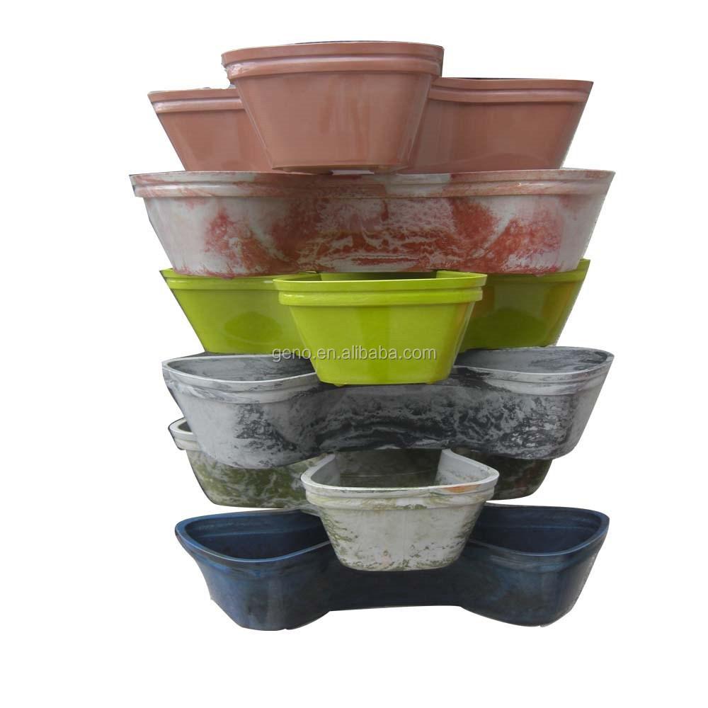 Plastic Garden Pot Stackable plastic garden pots wholesale garden pots suppliers alibaba workwithnaturefo