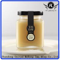 wholesale 65g 150g 280g 350g 500g 1000g clear glass jam jar,honey pot,storage jar