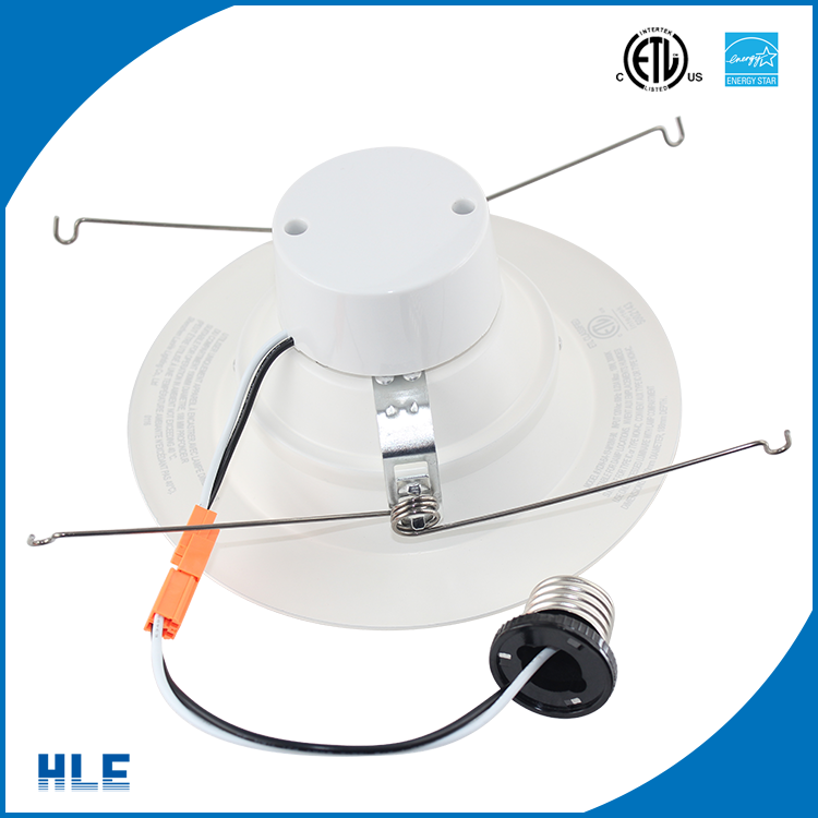 3 inch 75mm aperture recessed ceiling 8 watt round home led light downlights with energy star