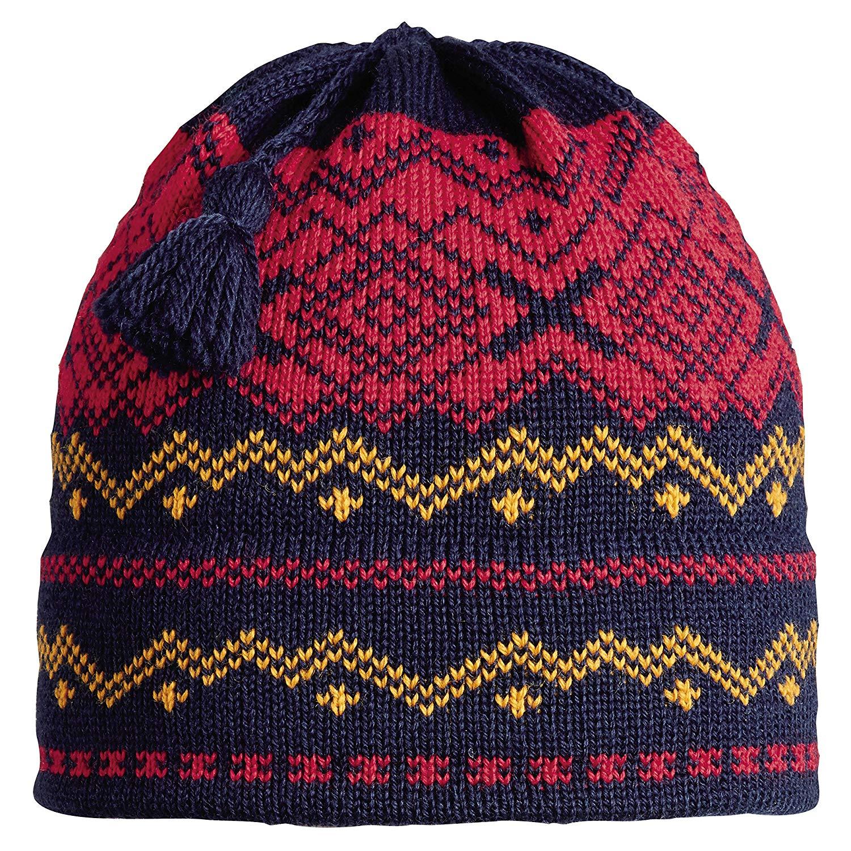 35b3e26942f93 Get Quotations · Vermont Originals 100% Wool USA Made Nordic Tassel Winter  Beanie Hat