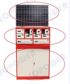 Solar Powered Mobile Phone Charging Kiosk Tourist Kiosk Mobile ...
