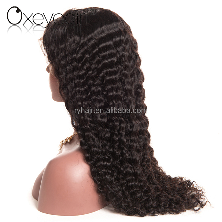2017 new arrival hand tied full lace virgin hair wigs