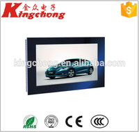 aluminium folding table lcd floor standing screen for advertising touchscreen pc player