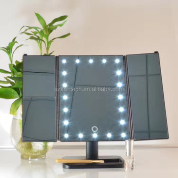 low priced 9b574 e40d4 Touch 3.0 Trifold Dimmable Led Makeup Mirror With Light - Buy Touch 3.0  Trifold Dimmable Led Makeup Mirror,Led Makeup Mirror With Light,3 Panel ...