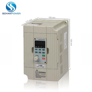 Single phase input 220V 2.2KW 3hp AC Variable frequency drive Excellent stability VFD drives for Pumping