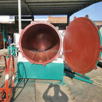 Wooden Charcoal Process Oven Carbonization Furnace