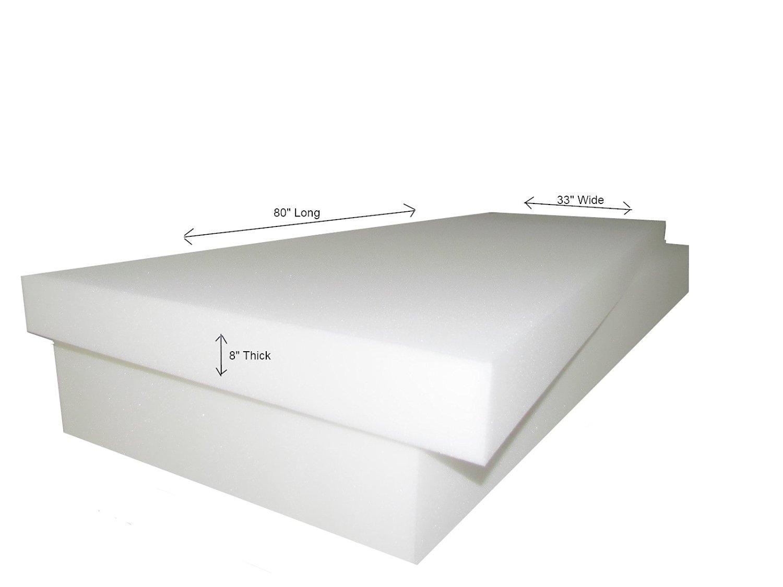 Get Quotations Foam Cushion 8 X33 X80 1536 Medium Firm Sofa