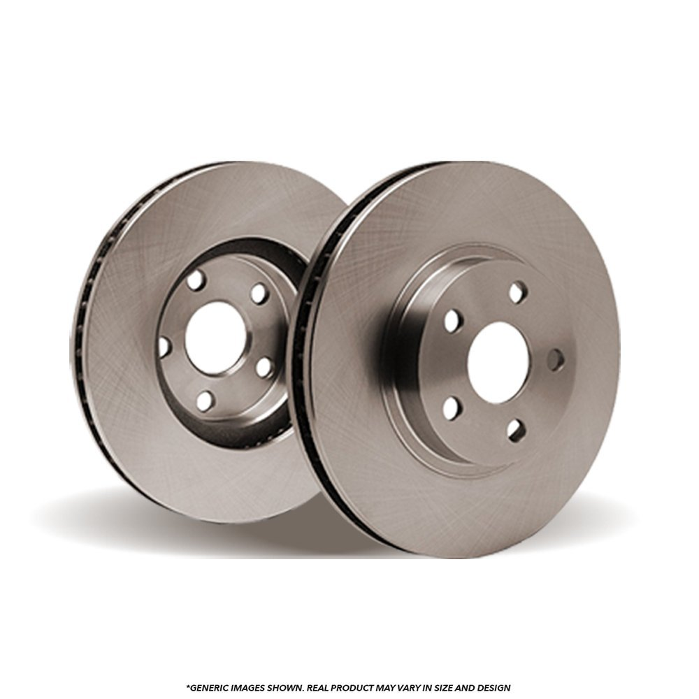 (Rear Rotors)(OE SPEC)(Perfect-Series) 2 Disc Brake Rotors(TL)(5lug)-(Ships from USA)