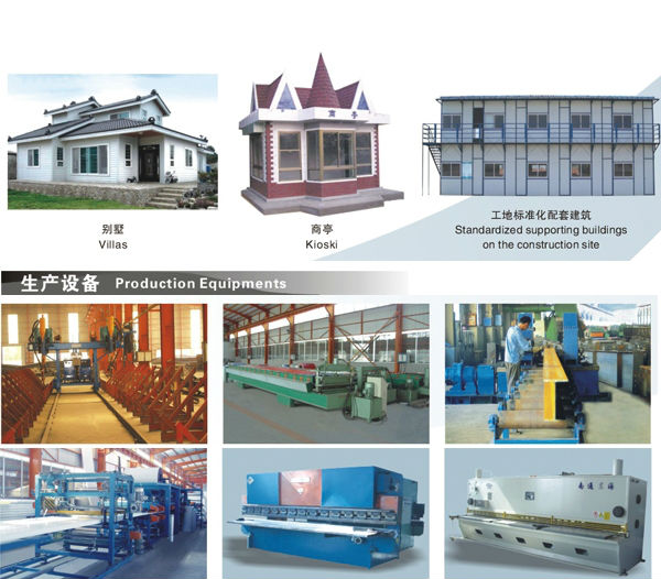 Made in China supplier prefabricated steel building