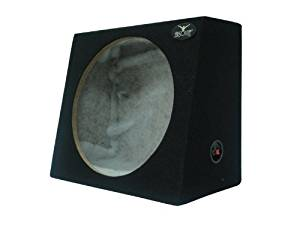 Absolute USA SAG15 Heavy Duty Sealed Back-Angle Single 15-Inch Subwoofer Enclosure Box