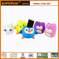 Duck Owl Penguin Cat shaped Universal Compatible Brand phone holder pillow