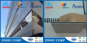 Outdoor Usage Aluminium Cladding with Fireproof Antibacterial Function