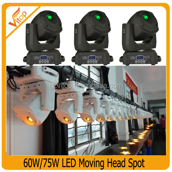 High Power 75w Led Mini Bee Eye Moving Head Gobo Stage Light,Party ...