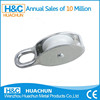 Top Sales Zinc Alloy Small Metal Pulley With Plastic Wheel Pulley HC-P008