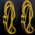 Custom Military Army Gold Uniform Ceremonial Aiguillette