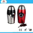 Stainless steel commercial electric coffee grinder and manual coffee grinder machine