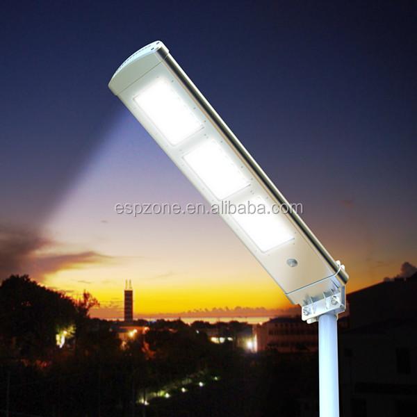 Wireless Energy Saving Ip65 Led Solar Outdoor Lighting Pole For ...