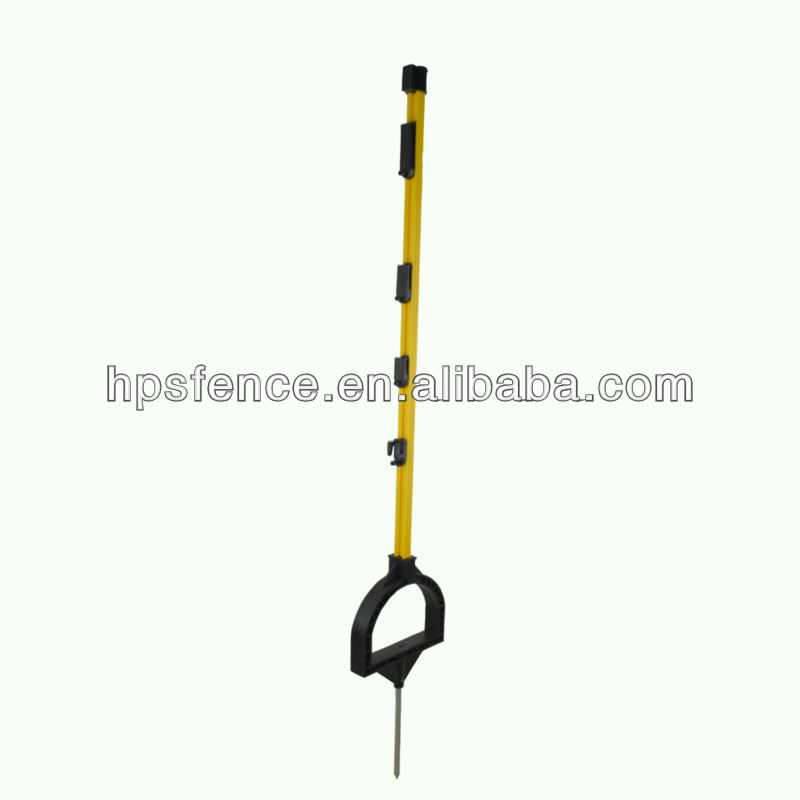 Electric fence Stirrup post 90cm