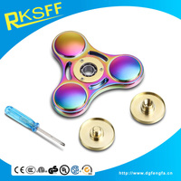 Fidget Spinner Toy Ultra Durable Stainless Steel Bearing High Speed 5-7 Min Spins Precision Metal Hand spinner