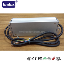 Three in one dimming 200W 4.87 -7.2A led driver for led street light