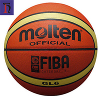 Molten GL 6 GM 6 Basketball Official Size PU Outdoor Game Match Training Ball Customize Your Own Basketball for Women Adult