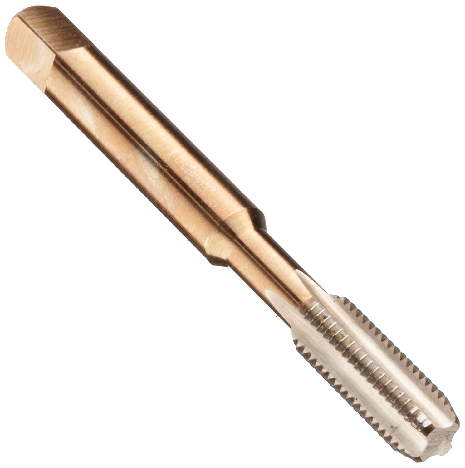 "Dormer E0715/16NO3 General Purpose Hand Taps, Bright Coating, Bottoming Chamfer Length, TPIUNF24, Full Length 2.23/32"", Nominal D 5/16, Flute Length 0.7700"", Shank Diameter 0.3180"""