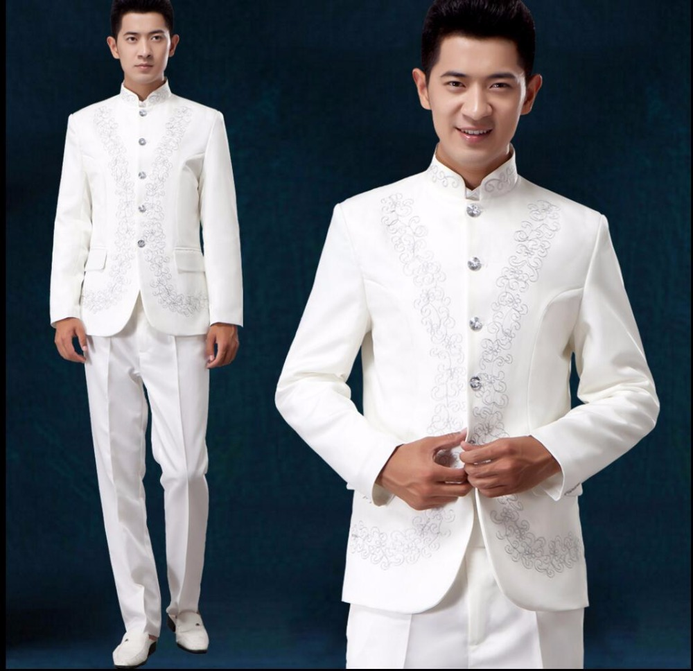 Chinese Collar Tuxedo Promotion Shop For Promotional