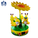 3 seats mini amusement rides coin operated kiddie rides carousel for sale (YY081)