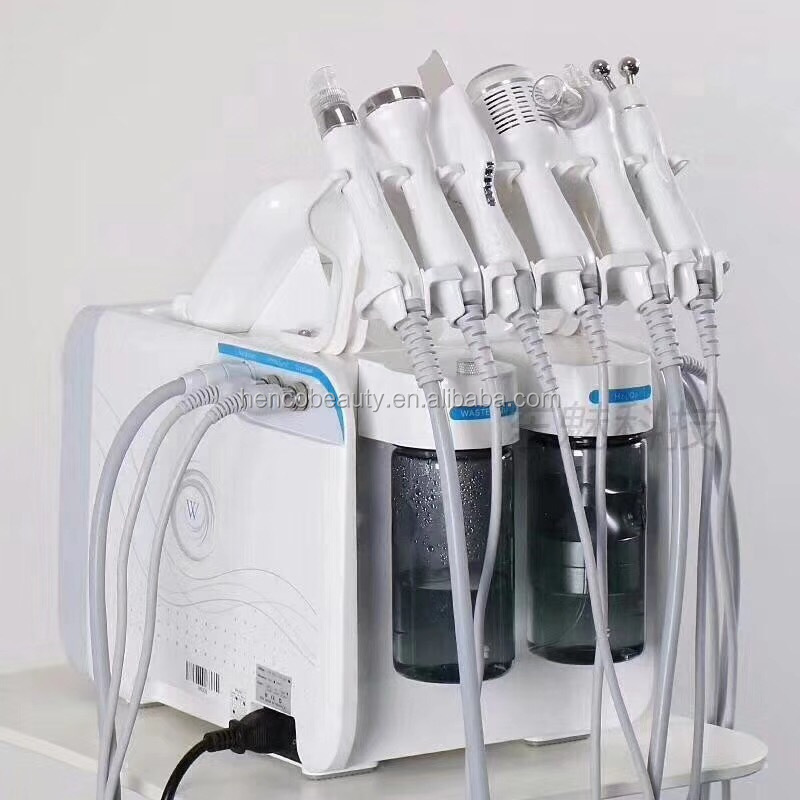 6 in 1 deep clear dermabrasion aqua facial oxygen jet peeling machine