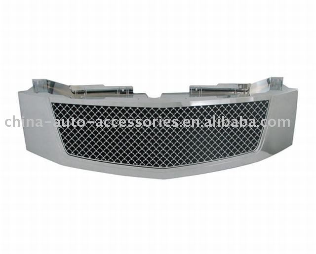 07-on Cadillac Escalade ABS Chrome Mesh Packaged Grille
