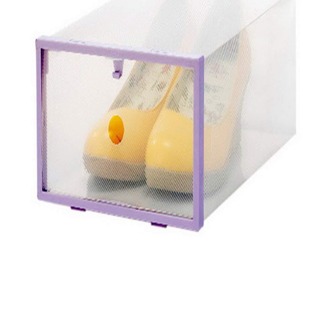 Fengg2030shann Transparent Shoebox Plastic Put Shoes Shoe Storage Box  Drawer Housing Simple Shoebox Son. Box