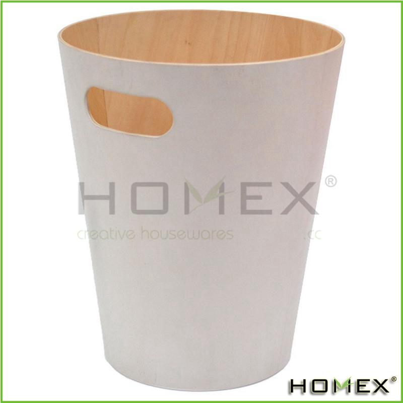 Wood Trash Bin Works Perfect in Any Room/Homex_BSCI