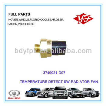 3749021-d07 Great Wall Deer Radiator Fan Temperature Control Switch - Buy  Temperature Control Switch,Great Wall Deer Temperature Control