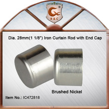Brushed Nickel Curtain Rod End Caps, Brushed Nickel Curtain Rod End Caps  Suppliers And Manufacturers At Alibaba.com