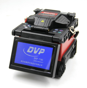 China low price arc Single Fiber Optic splicing machine DVP740 Optical Fusion Splicer Welding machine