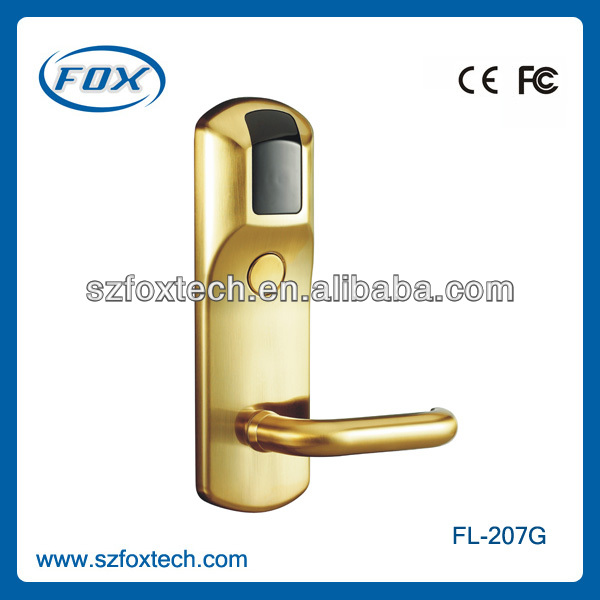 EU standard CE authorized manufacturing electronic door locks for hotels