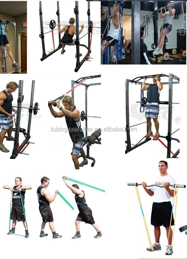Résistance bandes-résistance puissance de levage Crossfit Fitness Stretch Pull Up bandes