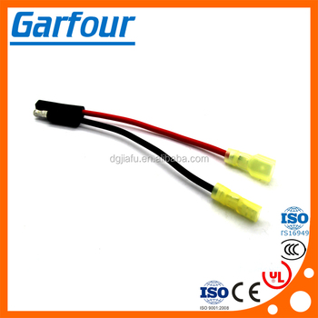 12v ATV UTV Wiring harness Accessory Plug_350x350 12v atv utv wiring harness accessory plug universal trailer 2 wire harness with 2 prong at edmiracle.co