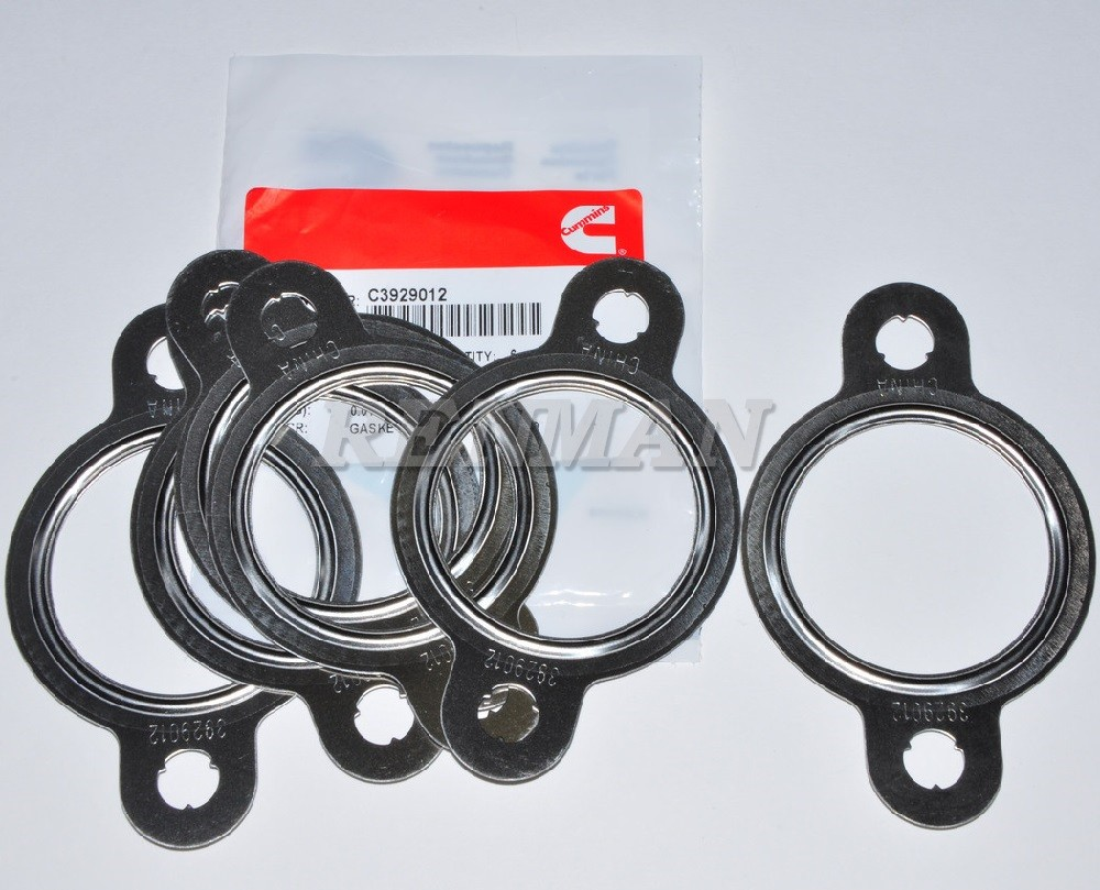 6PCS New Exhaust Manifold Gasket 3929012 For Cummins 6CT Engine parts