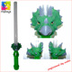 5 lights flashing plastic stick light dragon wand stick for sale
