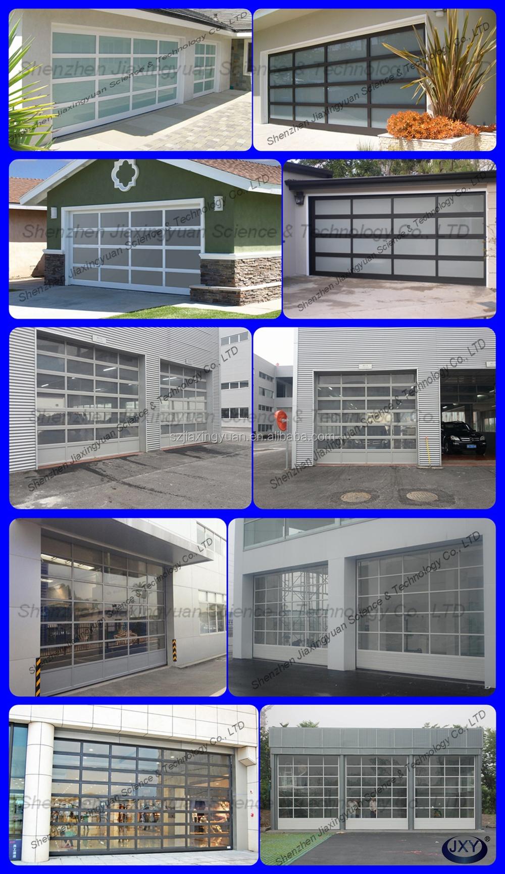 Garage door panels for sale - Sectional Aluminum Glass Garage Door Panels Sale