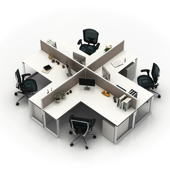 Price Office Furniture Cubicle Modern Modular Workstation For Staff