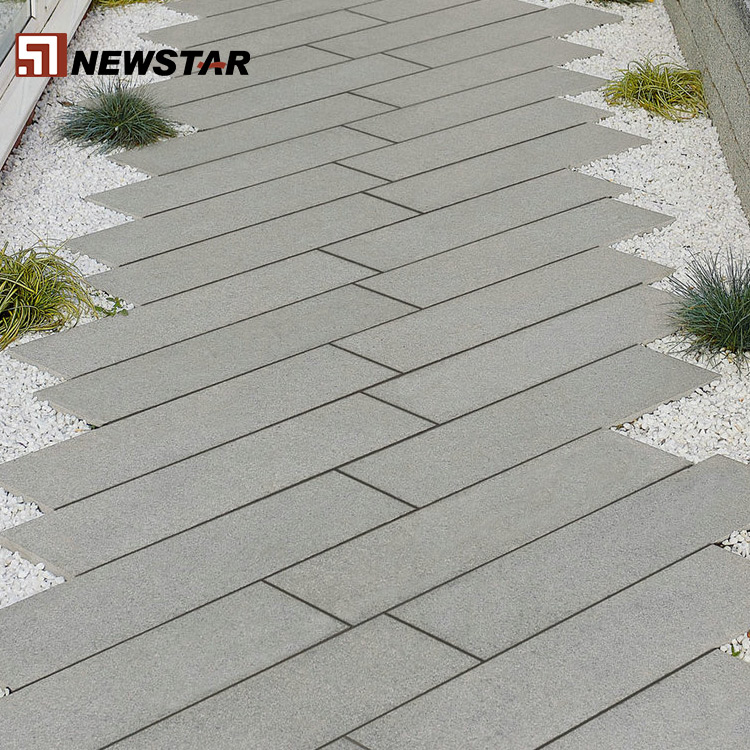 Non-Slip Flamed natural stone Outdoor Cheap rough Different Types Of Granite Tile floor price china color Factory
