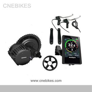 Screen update! 48V 1000W BBS03 Bafang BBSHD 8FUN mid drive motor Electric  Bike conversion kit with 48V 14AH lithium battery