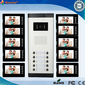 Multi-unit Video Intercom System Video Doorphone Wired Doorbell With ...