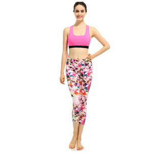 Fashionable spring/summer new style yoga tight women's fitness small feet nine crop