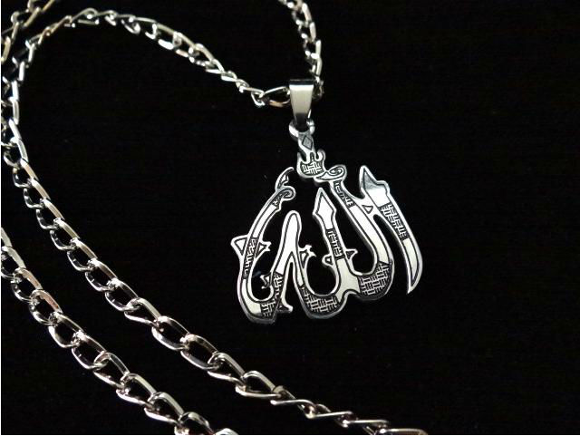 Religious muslim stainless steel jewelry wholesale